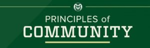 CSU Principles of Community