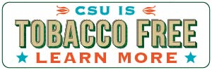 CSU is a tobacco-free campus